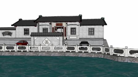 传统中式老宅,古色古香的韵味,唯美