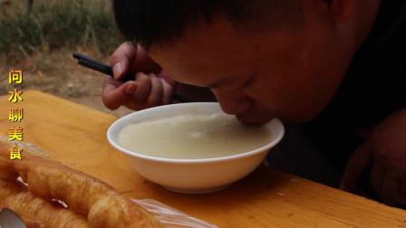 问水聊美食:济宁的一碗故意熬糊却糊中透香的糊粥