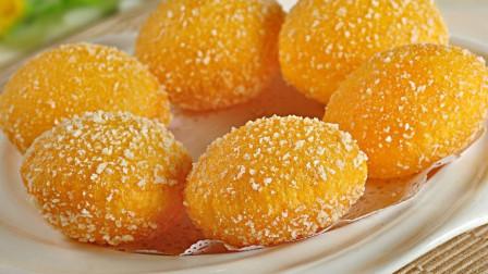 南瓜饼简单又好吃的做法,外表酥脆,比外面卖的都好吃!