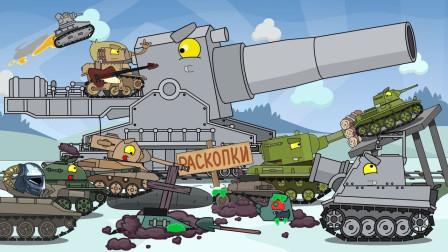 坦克世界搞笑系列:占据整条火车轨道的大齿轮Z2000系坦克,行驶在火车轨道上
