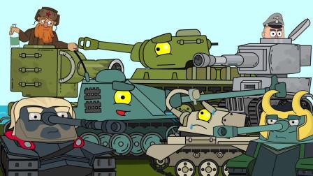 坦克世界搞笑系列:发现外星异类坦克,弯鼻子的炮口,你哪里的间谍?