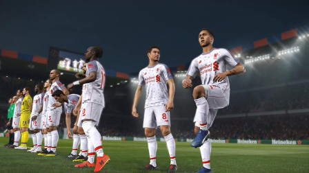 实况足球2019一球成名150: 欧冠小组赛关键战 淡水解说
