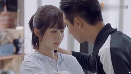 亲爱的热爱的:韩商言佟年正式和好仪式,直男式接吻
