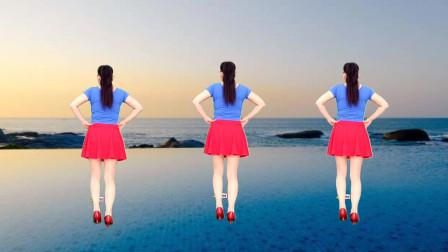 玫香广场舞梦中的兰花花背面演示水兵舞风格