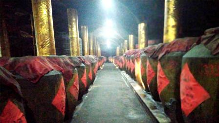 探访沂蒙山脚下的洞藏酒文化,洞内一年四季温度在20度左右
