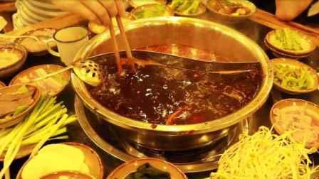 老重庆3拖1火锅!菜单全点才288元,荤菜三块素菜一块