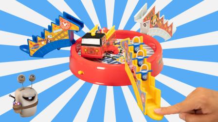 米奇妙妙屋 消防总动员 亲子互动游戏玩具