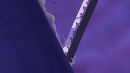 海贼王-362集:飞舞在屋顶的斩击!!决战索隆VS龙马7