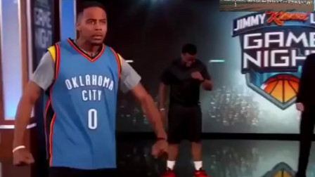 模仿帝上节目模仿NBA球星,詹姆斯库里哈登均躺枪,这动作绝了!
