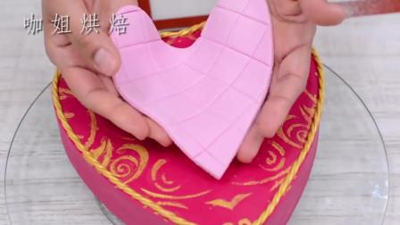 能吃的心形巧克力盒你见过吗其实是牛人做的翻糖蛋糕,创意满分
