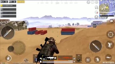 刺激战场- 双持M249横扫沙漠 一个人的火力足以压制敌人一整队