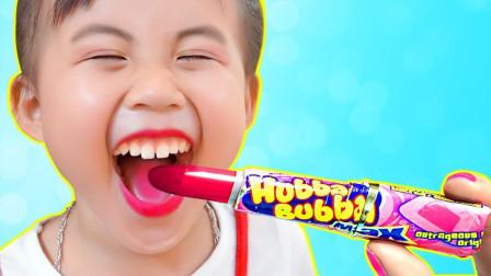 太聪明!萌宝小萝莉为了要买喜欢的东西,她竟然做起了卖水果的生意?儿童亲子游戏玩具故事