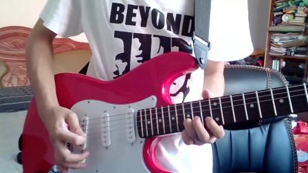 电吉他《光辉岁月+真的爱你》前奏