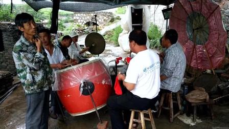 山西平定民间唢呐锣鼓演奏,传统曲牌听得有滋有味!