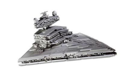 LEGO乐高积木玩具星球大战系列10030帝国歼星驱逐舰套装速组速拼