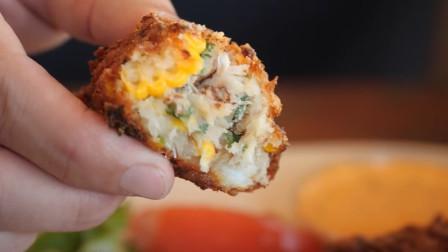 男子品尝各种美味的食物,吃货:隔着屏幕都能感觉到香气扑鼻