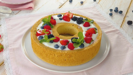 水果流心蛋糕,少女心收割机,健康美味大放送!