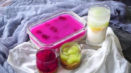 百搭水果冻的做法,学会了就有源源不断的果冻吃咯!好吃又实惠
