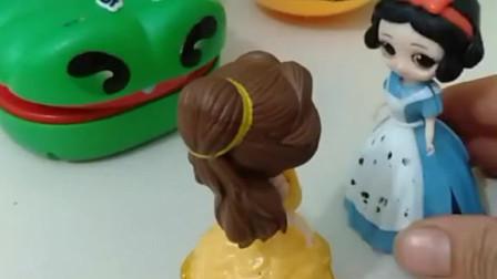 少儿益智亲子玩具白雪公主的糖果不见了是被谁拿走了呢