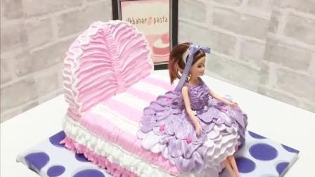 令人惊奇的3种生日蛋糕,男孩喜欢的赛车跑道,女孩喜欢的芭比