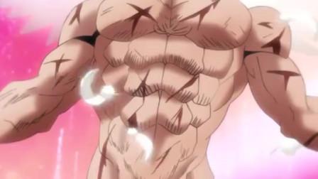 竖版-一拳超人:性感囚犯每次都是裸着作战,他的大招有点油腻(1)