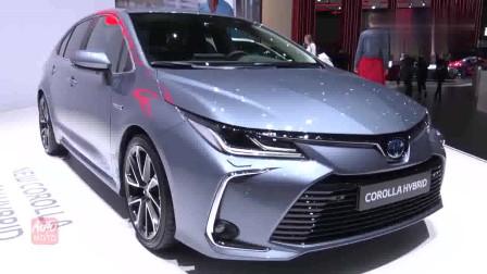 2020款丰田卡罗拉混动版惊艳亮相车展,外观和内饰高清抢先赏鉴