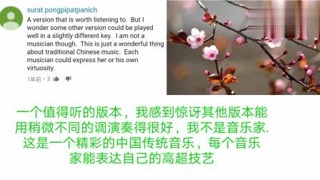 老外看中国:外国人看传统竹笛演奏一剪梅:谢谢你,我的宝贝睡得很好!