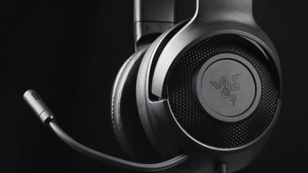 更轻机身!雷蛇北海巨妖标准版X游戏耳机开箱