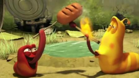 爆笑虫子:虫虫们都在救火大黄在烤香肠请问你是上帝派来的逗比吗