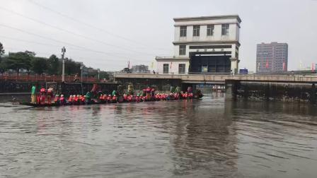 2019 黃埔南灣龍船往菠蘿廟參神 - 龍船採青 Part1