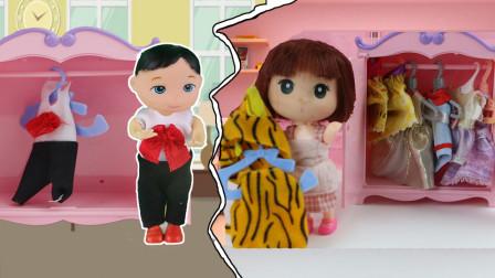 芭比娃娃故事都是妈妈的孩子,姐姐和弟弟的差别也太大了,弟弟vs姐姐