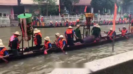 2019 黃埔南灣龍船到訪廟頭岑 - 龍船探親