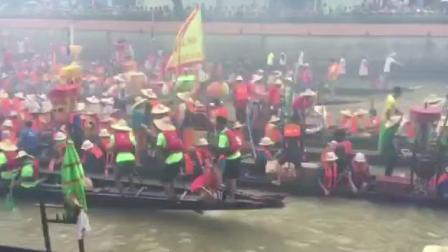 2019 黃埔南灣火龍到訪車陂坑 - 龍船探親