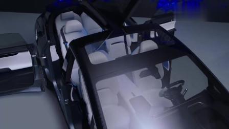 高端华人运通智能汽车!科技感亮瞎人眼 外型酷似概念车