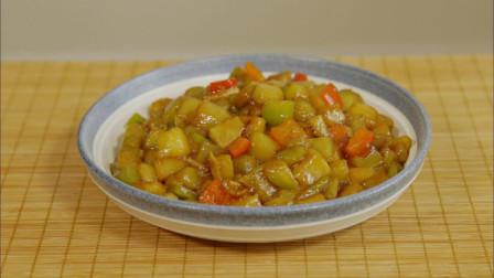 蚝油烧茄子最简单的家常做法,饭店大师都是这么做的,简单又下饭