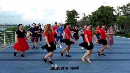 沙井茅洲河畔广场舞《火火的爱-DJ》