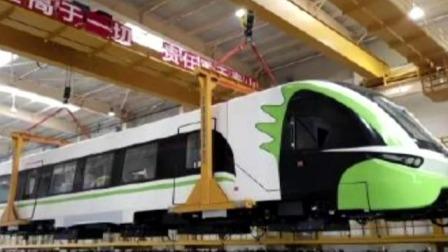 中国首列商用磁浮2.0版列车进行提速测试 每日新闻报 20190807 高清版