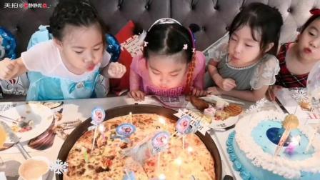 十八寸生日大披萨原本想私密自存, 但还是想分享十八寸生日大披萨