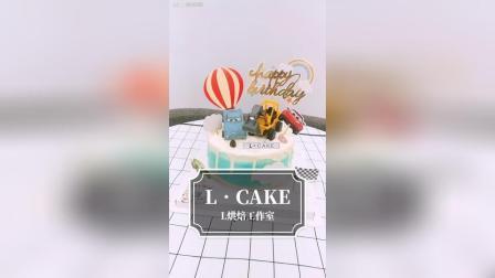 L•cake烘焙工作室出品 儿童生日蛋糕