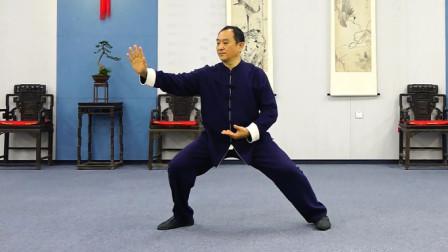 太极名家刘勇陈氏太极拳新架一路教学第一集:第一段示范