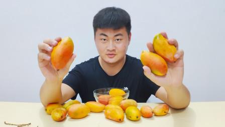 """试吃芒果界的""""榴莲"""",味道浓郁,口感和榴莲差不多"""