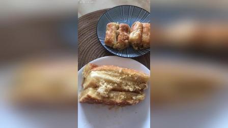 肉松三角面包肉松卷