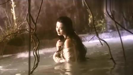 白发魔女传:此女只应天上有,人间难得几回闻,青霞美到看懵了!