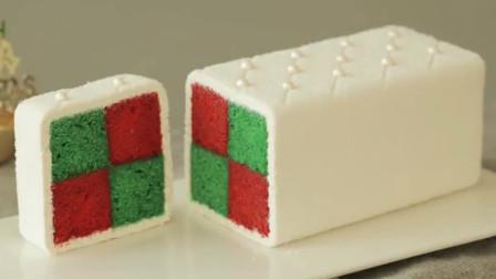 切开像方块抱枕的普通蛋糕,原来有120多年历史!做法免费拿去