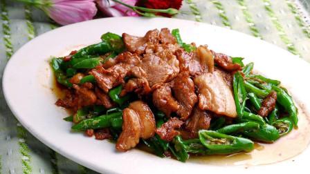 在湖南,这是一道家庭及餐馆的常见菜,看厨师小哥如何操作?