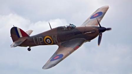 MFP 盗窃霍克飓风 - 偷了一架RAF战机的间谍