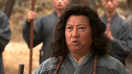 少林僧兵:日本刀没赢过少林铁棍,武士要剖腹自尽,被云游僧救了