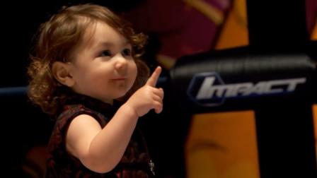 IMPACT摔角史上5大惊人获胜,两岁萌娃赢比赛是啥感觉?