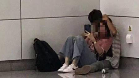 男子在南宁地铁站持刀劫持一女子 被警察开枪击毙