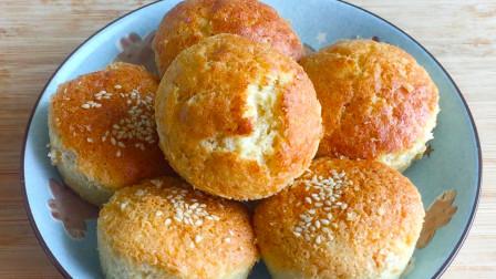 松软小蛋糕,不加油不用小苏打,简单一做,出锅比吃肉还香!【三丰美食】